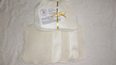 Bamboo & Fleece Wipes Pack 10 or 20